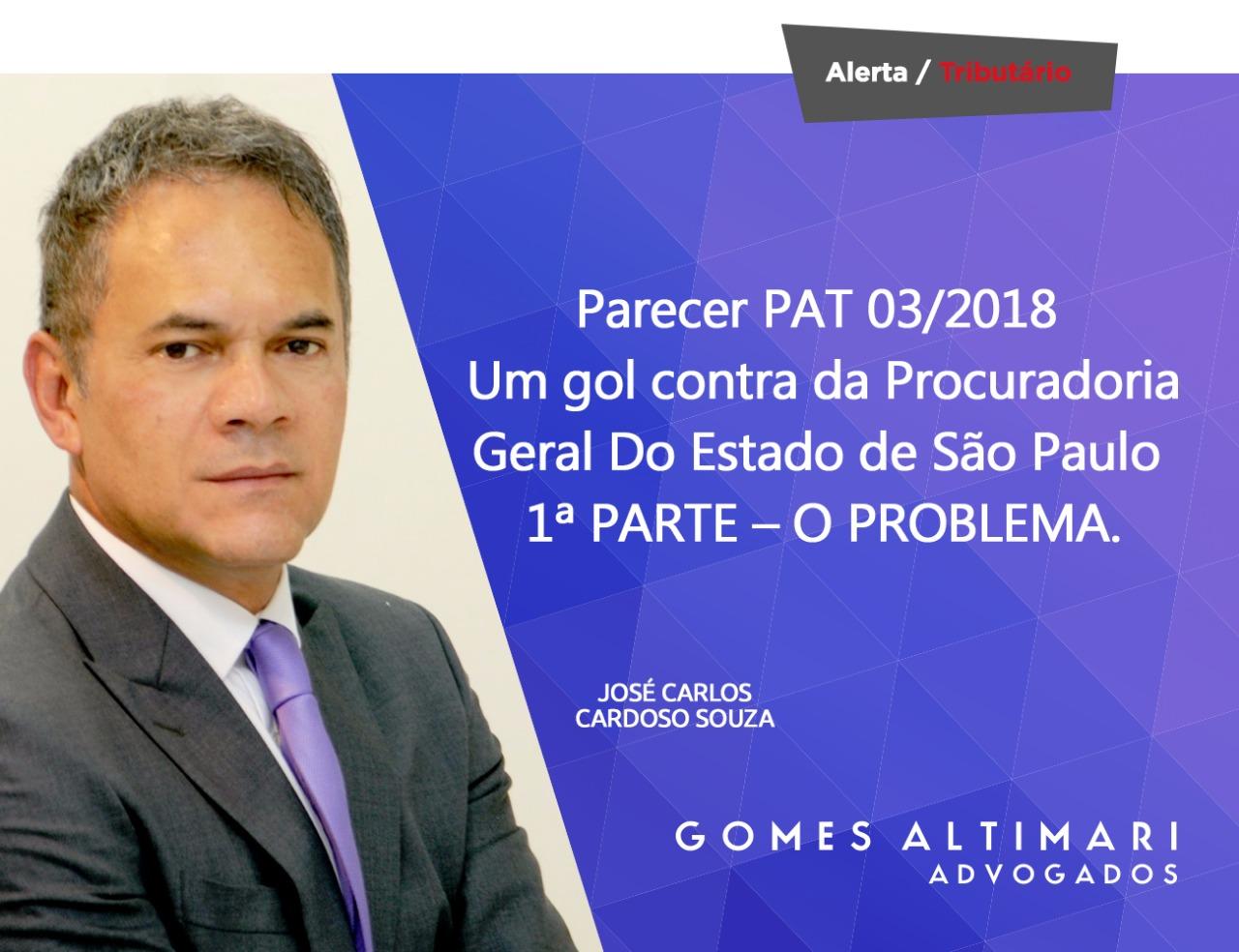 Artigo | PARECER PAT 03/2018 – Um gol contra da Procuradoria Geral do Estado de São Paulo – 1ª Parte – O problema*