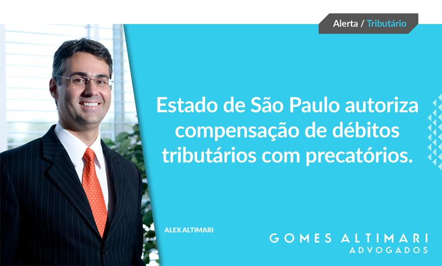 Artigo   Estado de São Paulo autoriza compensação de débitos tributários com precatórios*