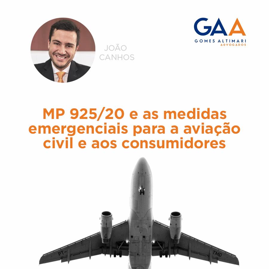 MP N° 925: o direito do consumidor e as medidas emergenciais para a aviação civil brasileira