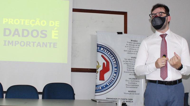 Santa Casa de Marília inicia implementação do Programa de Conformidade em Privacidade e Proteção de Dados