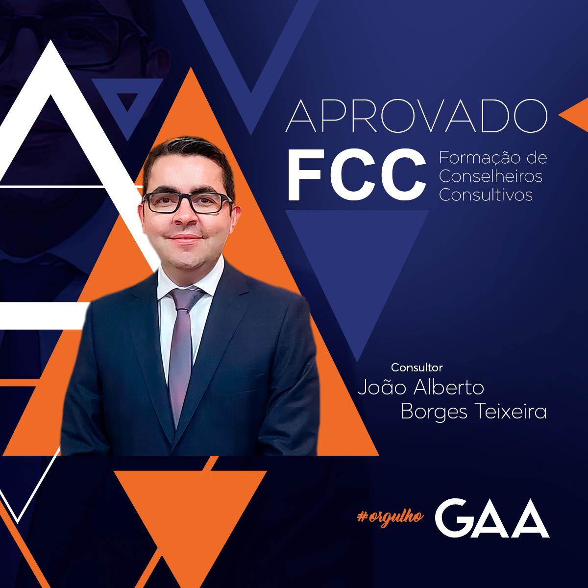 Orgulho GAA – Certificado FCC