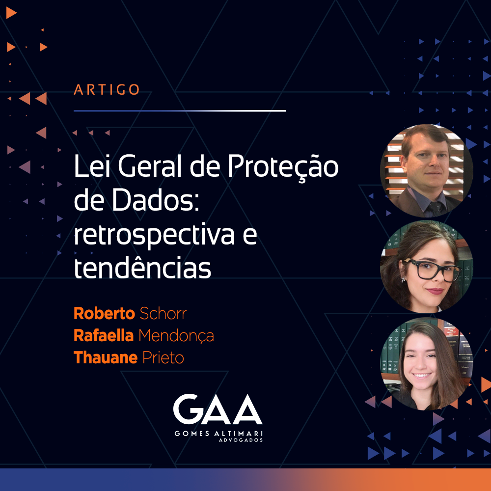 LGPD: retrospectiva e tendências